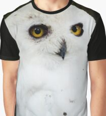 Snowy Owl Graphic T-Shirt