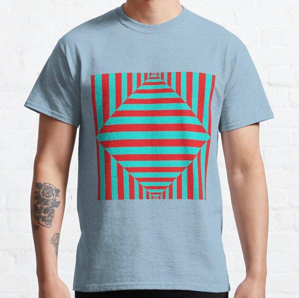 Geometric Composition Art #Geometric #Composition #Art #GeometricCompositionArt #GeometricComposition Classic T-Shirt