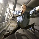 Man Falling by Cliff Vestergaard