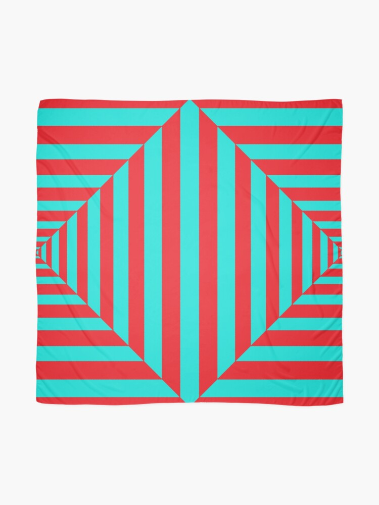 Alternate view of Geometric Composition Art #Geometric #Composition #Art #GeometricCompositionArt #GeometricComposition Scarf
