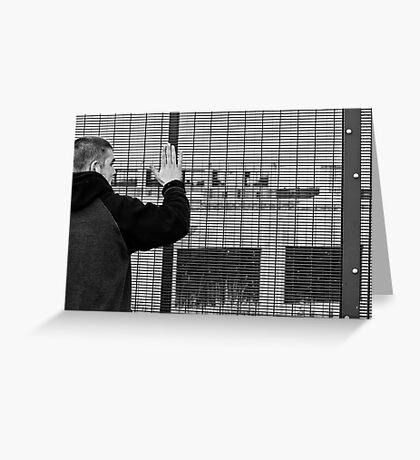 Keep bangin' walls Greeting Card