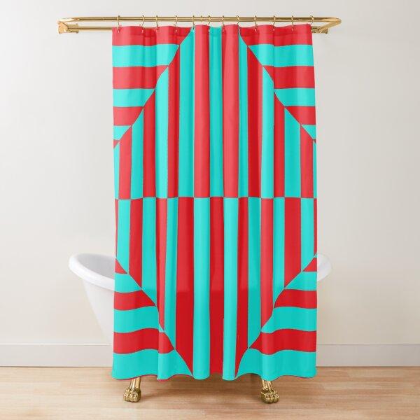 Geometric Composition Art #Geometric #Composition #Art #GeometricCompositionArt #GeometricComposition Shower Curtain