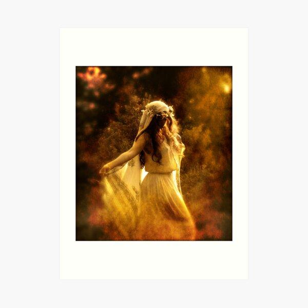 Dancing Maiden Art Print