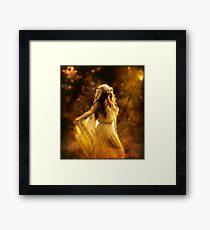 Dancing Maiden Framed Print