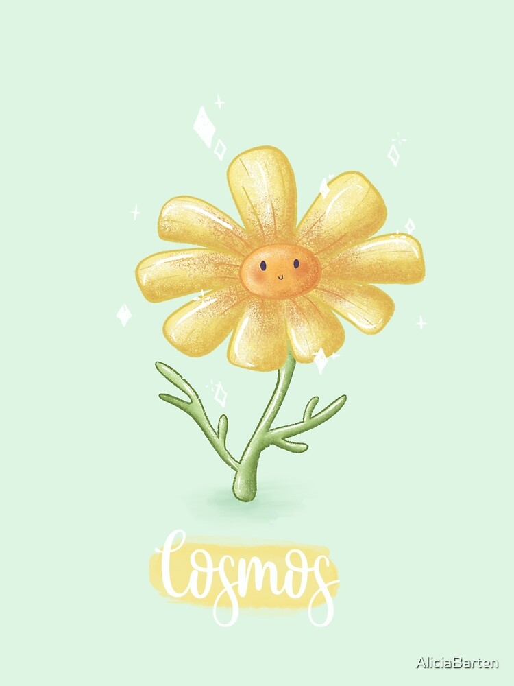 Cosmos Flower Animal Crossing New Horizons Greeting Card By