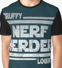 Scruffy Looking Nerf Herder Graphic T-Shirt
