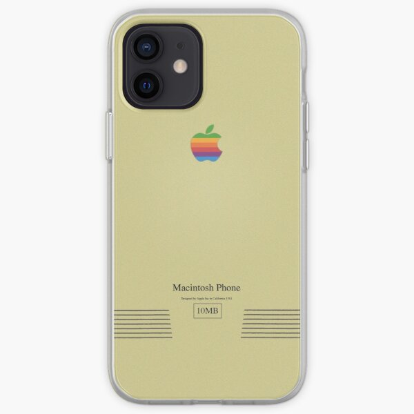 Macintosh Phone iPhone Soft Case