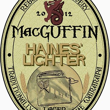MacGuffin Brewery - Haines' Lighter Lager by Reibusu