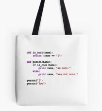 I am cool  Tote Bag