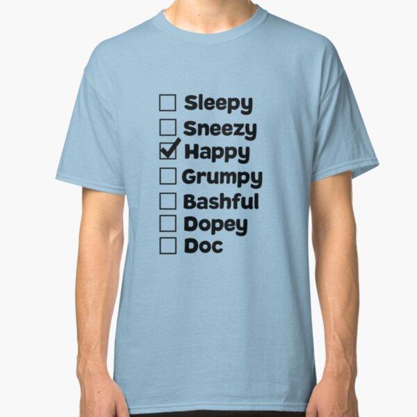 Happy Dwarf Classic T-Shirt