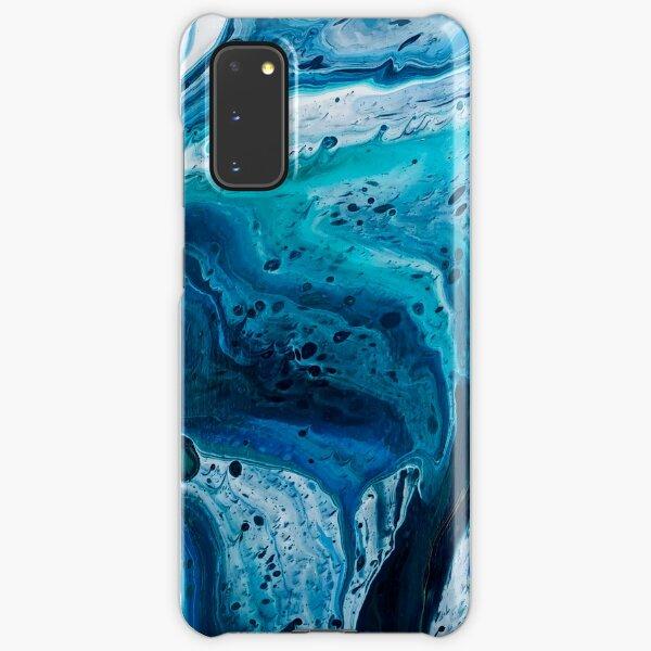 Hurricane Hallie (Marbled Acrylic Pour) Samsung Galaxy Snap Case