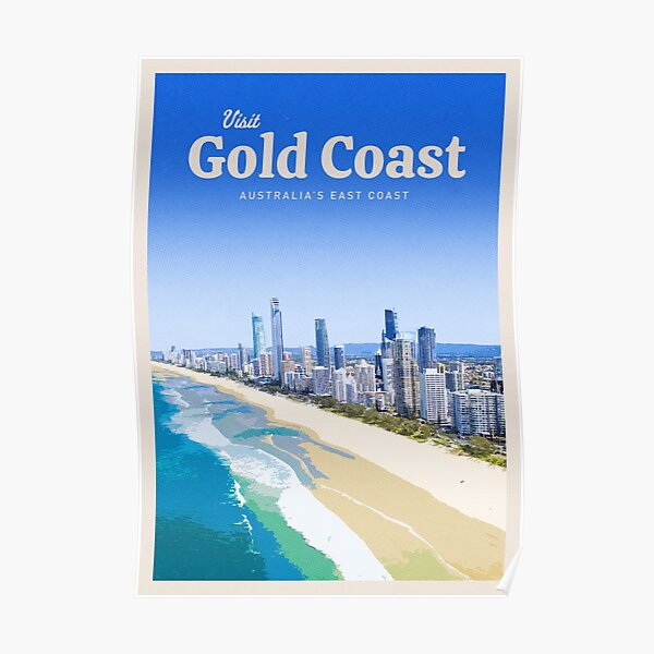 Visit The Gold Coast Poster