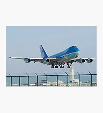 Air Force One Lifts Off from KCLE January 2012 Photographic Print