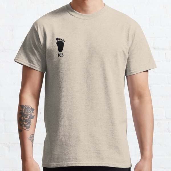 Karasauno ICS Sweatshirt Jersey Logo for Haikyuu Cosplay Classic T-Shirt