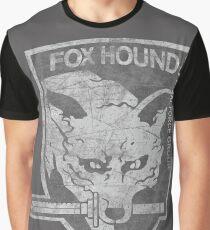 Battle Worn - Fox Hound Special Force Group  Graphic T-Shirt