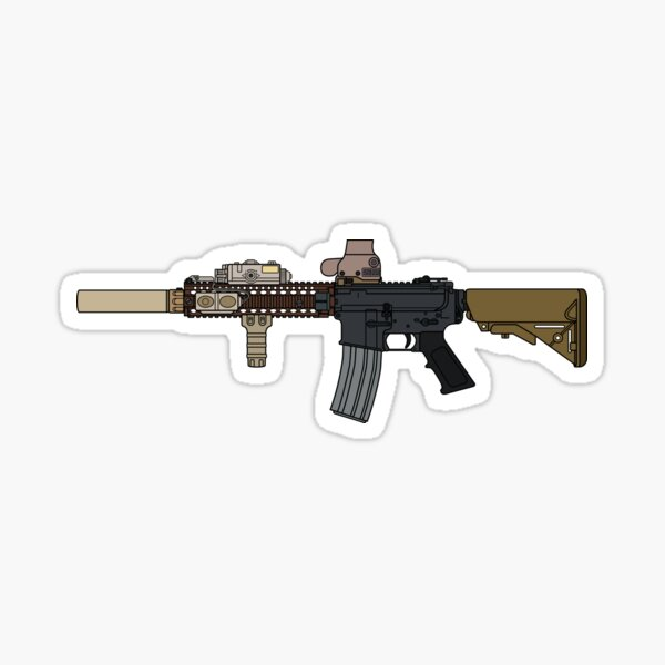 MK18 Block II Sticker