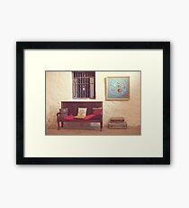 Gallery Seats Framed Print