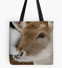 Snow on the Nose Tote Bag