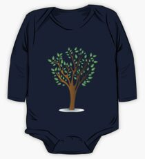 Green tree One Piece - Long Sleeve