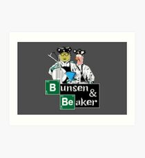 Bunsen & Beaker Art Print