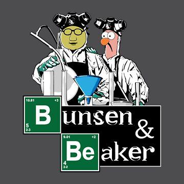 Bunsen & Beaker by Mephias