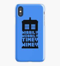 Wibbily Wobbily Timey Wimey iPhone Case/Skin