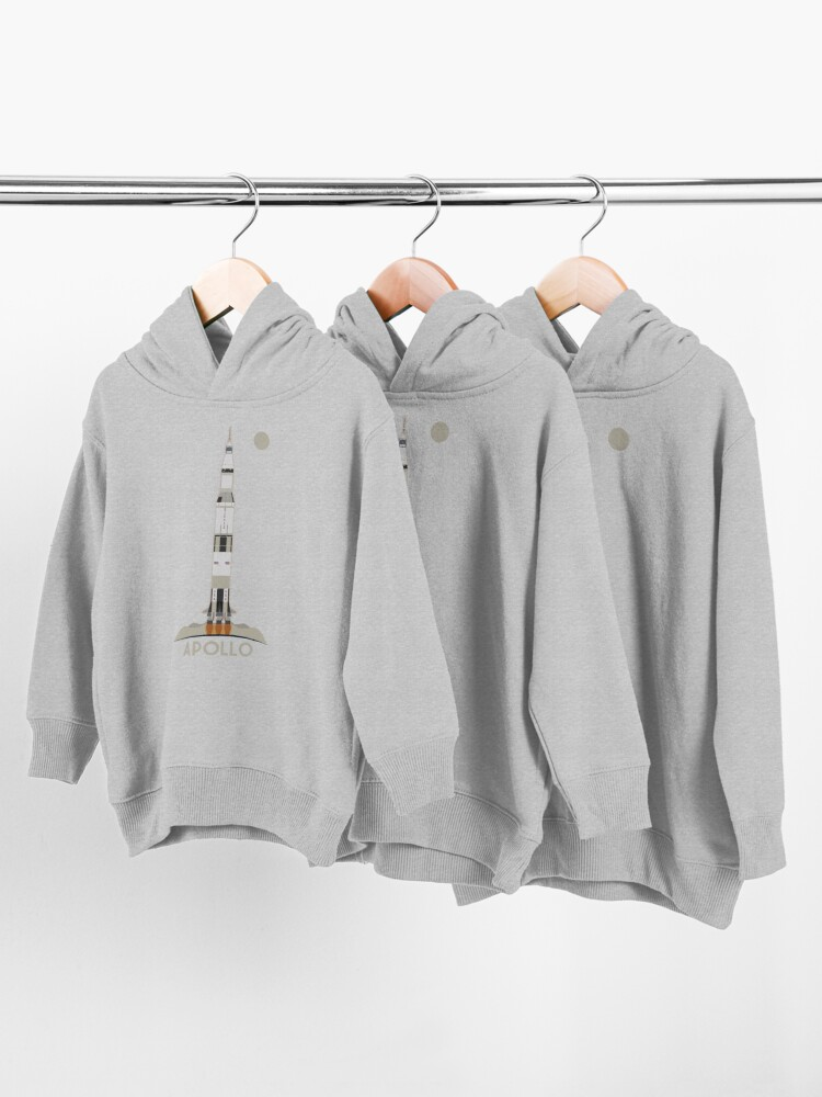 Alternate view of Apollo Launch Toddler Pullover Hoodie