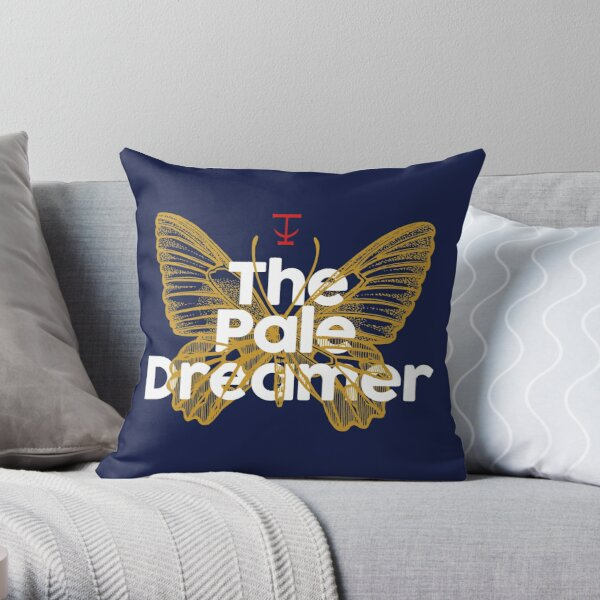 The Pale Dreamer Throw Pillow