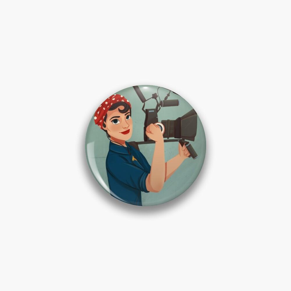 Rosie the Filmmaker | Rosie the Riveter Pin