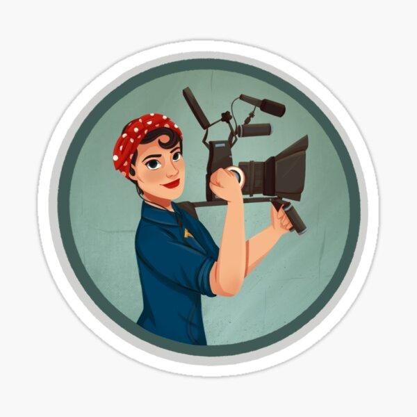 Rosie the Filmmaker | Rosie the Riveter Sticker