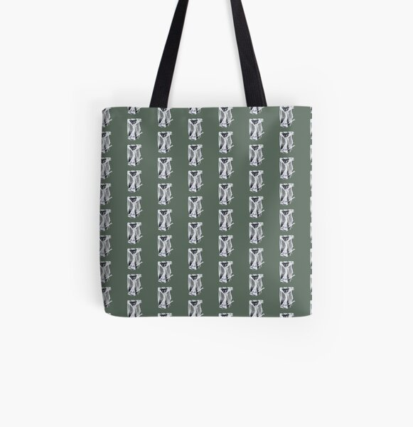 Sleeping owl All Over Print Tote Bag