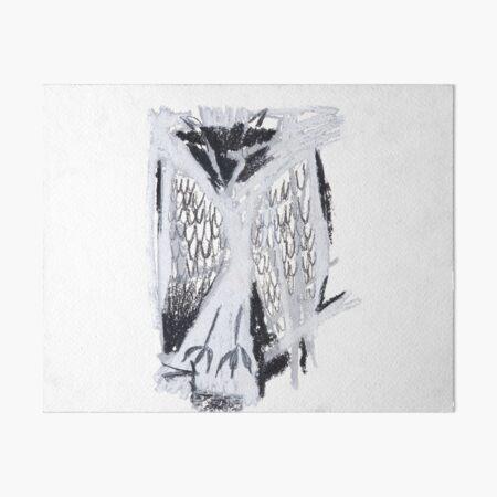 Sleeping owl Art Board Print