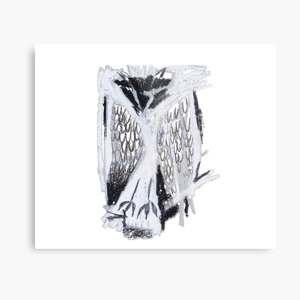Sleeping owl Metal Print