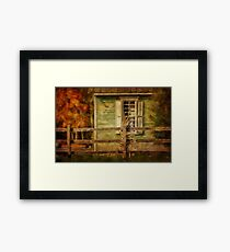 The Doctor's Office Framed Print
