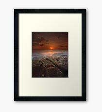 """The Darkest Days"" ∞ Merimbula, NSW - Australia Framed Print"