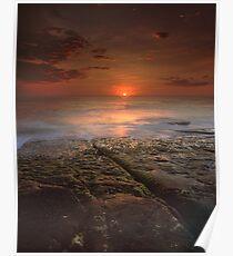 """The Darkest Days"" ∞ Merimbula, NSW - Australia Poster"