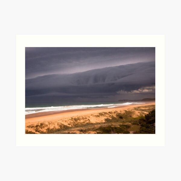 Storm over Mimosa Rocks Art Print