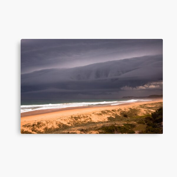 Storm over Mimosa Rocks Canvas Print