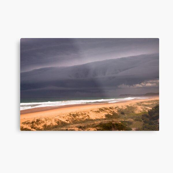 Storm over Mimosa Rocks Metal Print