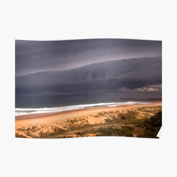 Storm over Mimosa Rocks Poster