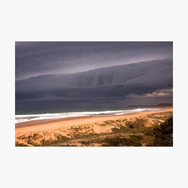 Storm over Mimosa Rocks Photographic Print