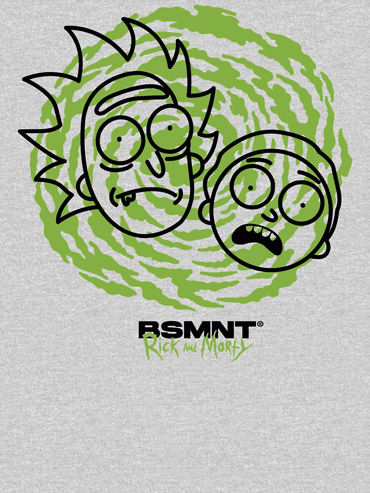 Rick and Morty - Portal by bsmntsupply