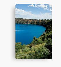 0855 Blue Lake - Mount Gambier Canvas Print