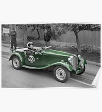 MG TD 1951 Poster