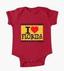 I love Florida One Piece - Short Sleeve