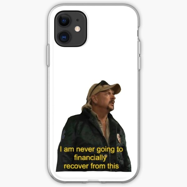 Joe Exotic Meme iPhone Soft Case