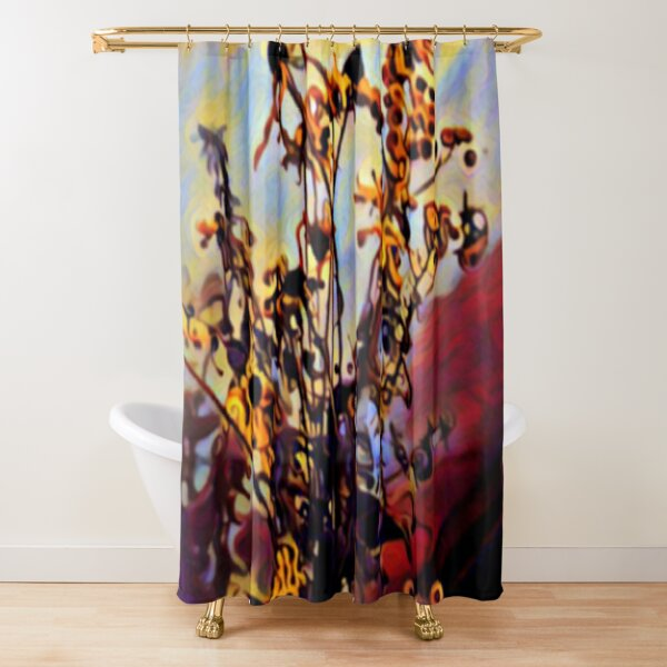 Past Thier Prime but Still Beautiful  Shower Curtain