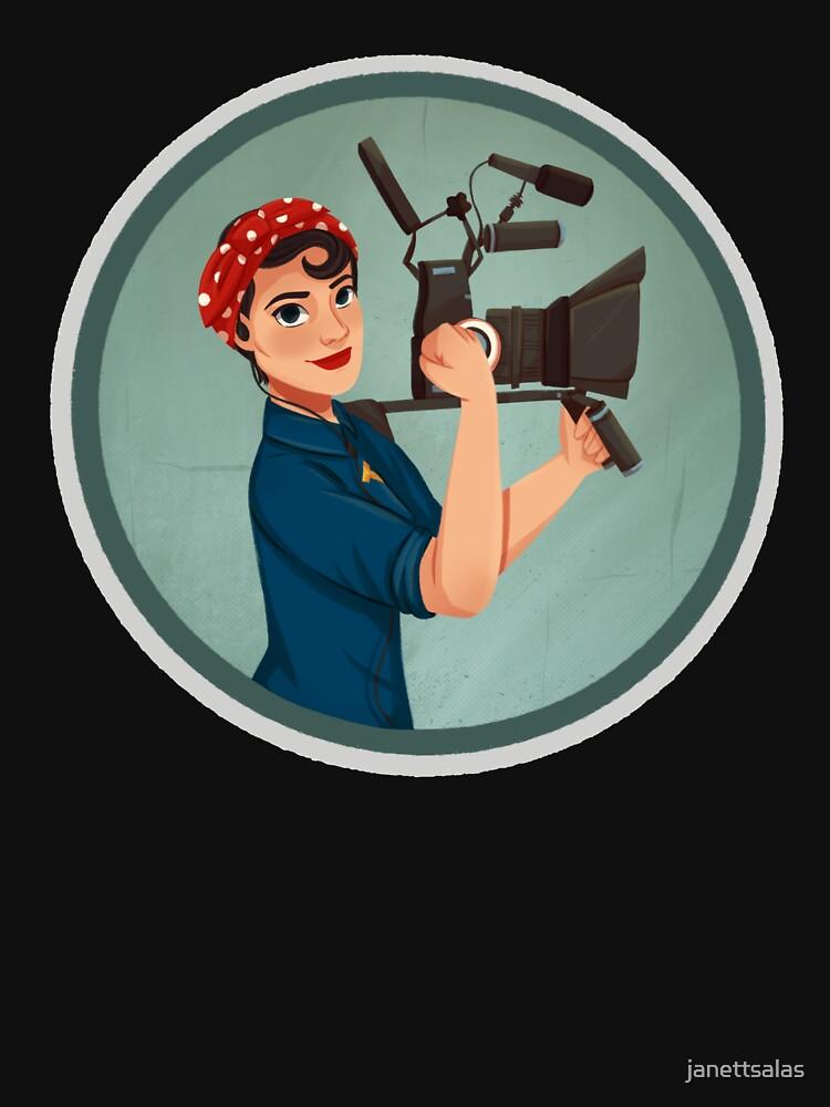 Rosie the Filmmaker   Rosie the Riveter by janettsalas
