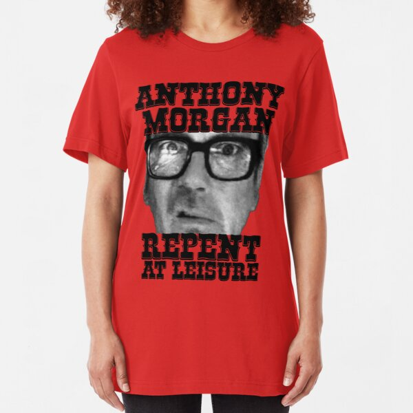 Anthony Morgan - Repent At Leisure (Black) Slim Fit T-Shirt