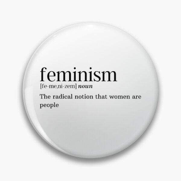 Feminism Defintion Pin